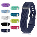 Sport Safely Replacement Wrist Band 3D Edition Bracelet Wristband Strap Buckle for Smart Fitbit Flex TPU