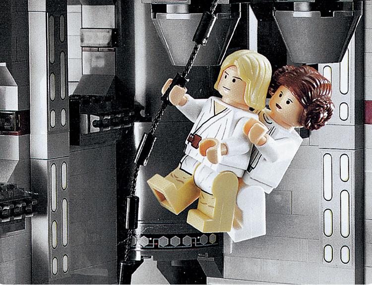 Technic Death Star Model building blocks compatible lego blocks