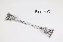 Женский винтажный браслет URVOI, с цепочкой из нержавеющей стали, для apple watch 5, 4, 3, 2, 1(Китай)