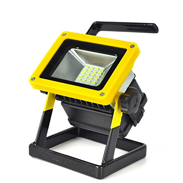 Worqlite 2 0 Weatherproof Cordless Rechargeable Led Work: 10W Outdoor LED Flood Lights Rechargeable 24 LED