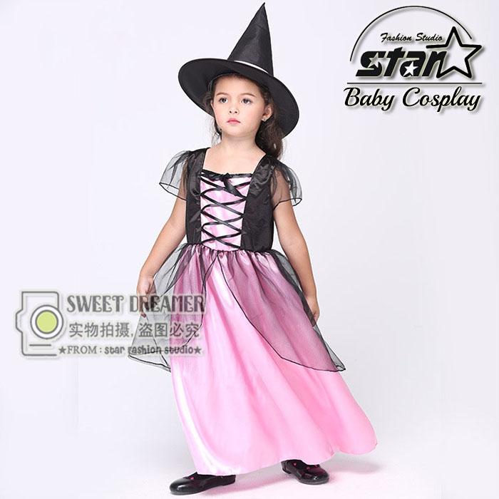 New Arrival Witch Costume font b Fancy b font font b Children b font Halloween Costume
