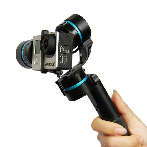 Ultra 3-Axis Handheld Steadycam Camera Gimbal Stabilizer For GoPro Hero 3