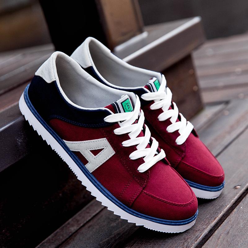 Новая коллекция весна и лето 2015 корейской мужской свободного покроя мужской обуви обувь спортивная обувь дышащая обувь