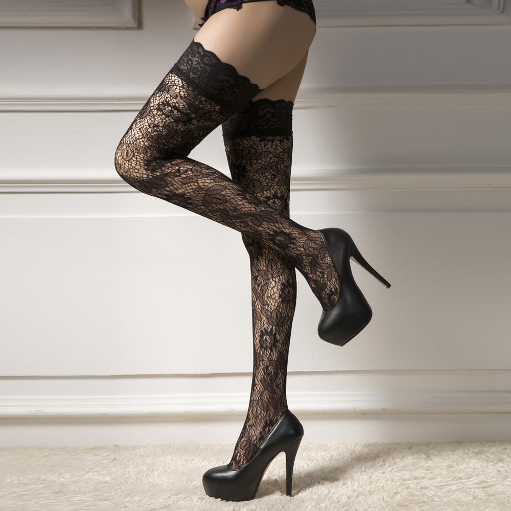 6b5536f00e060 2019 Sexy Stockings Women Net Thigh High Stockings Lace Up Thigh Highs  Hoiery Fishnet Stocking High Quality Medias Lingerie #5 From Vanilla15,  $21.17 ...