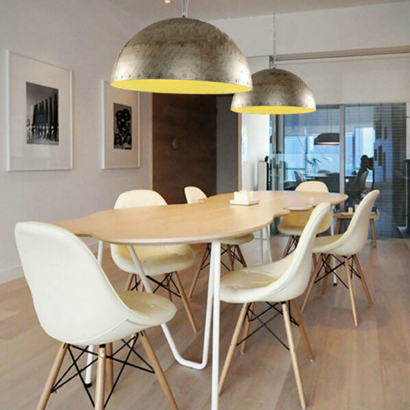 Metal Industrial Hanging Lamp Vintage Pendant Light