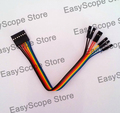Jumper cable 7 6 pins individual female