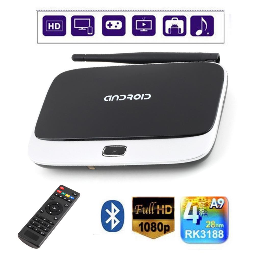 CS918 Android 4 2 TV Box Player RK3188 Quad Core 2GB/8GB WiFi 1080P
