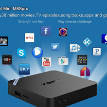 Mini M8S Pro TV Box Set-top Box Amlogic S905 Android 5.1 Quad Core WiFi Bluetooth 4.0 2GB RAM 8GB Smart Media Player EU/US Plug