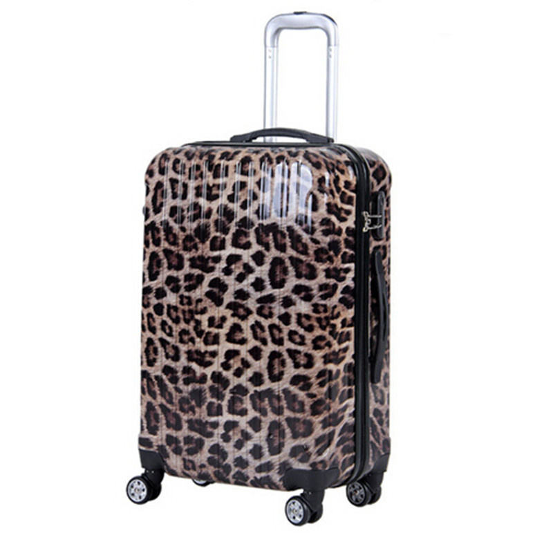 Leopard Print Suitcases And Travel Bags