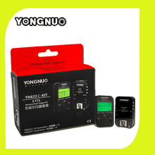 Yongnuo 1pcs YN-622C TX Wireless Flash Controller + 1pcs YN-622C Wireless Flash Trigger Transceiver for Canon DSLR Camera