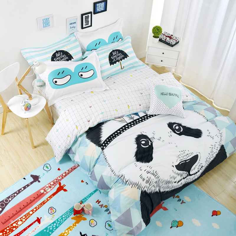 achetez en gros panda lit ensemble en ligne des grossistes panda lit ensemble chinois. Black Bedroom Furniture Sets. Home Design Ideas