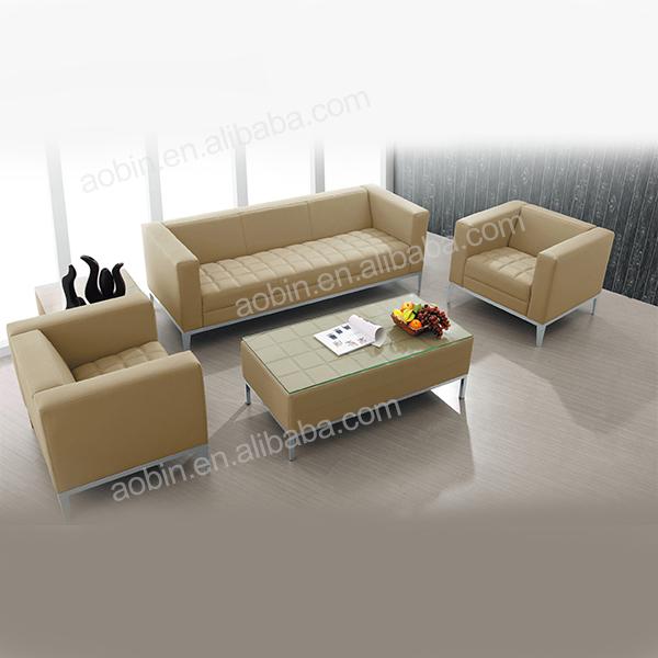 Office Waiting Room Fabric Sofa Set Designs