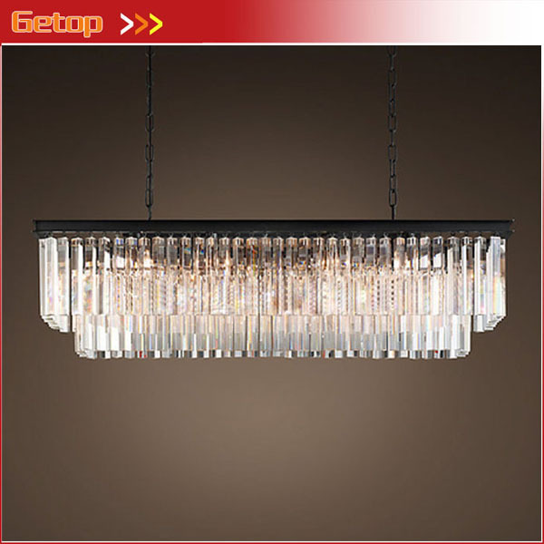 Unique Rectangular Dining Room Chandeliers: Aliexpress.com : Buy American Country Crystal Chandelier