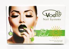 free shipping 12pcs VOG Fashional Color Change Temparture Change LED UV Gel Polish 15ml 12 fashional