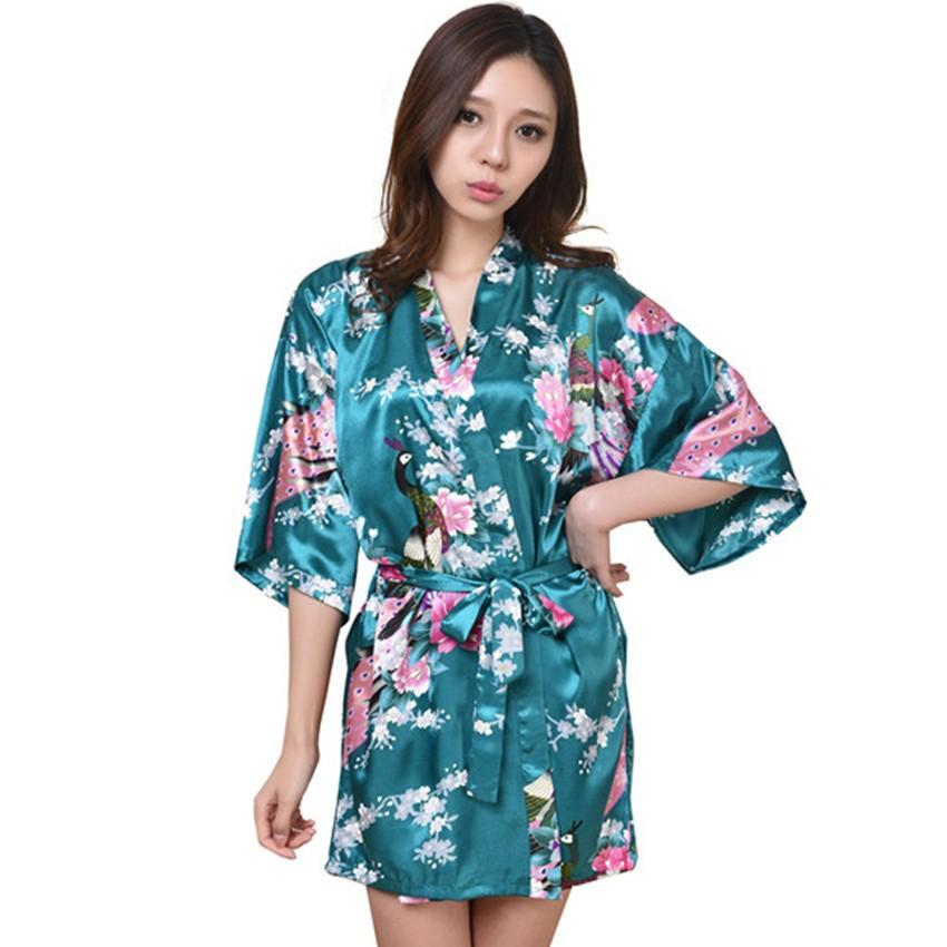 6be00f9e1f 2019 Wholesale New Arrival Gold Female Printed Floral Kimono Dress ...