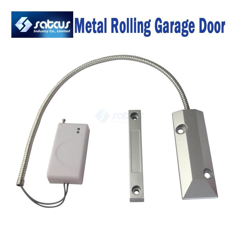 Wireless Metal Rolling Garage Door Magnetic Contact