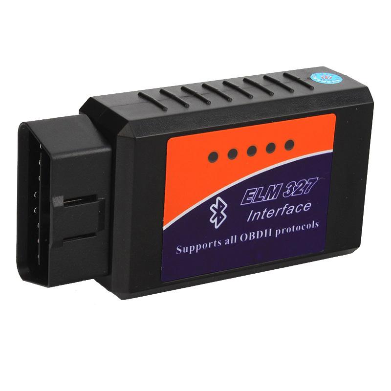 Бесплатная доставка профессиональный диагностический инструмент OBD2 OBD-II ELM327 V1.5 Bluetooth автомобиля диагностический интерфейс сканера работает на Android