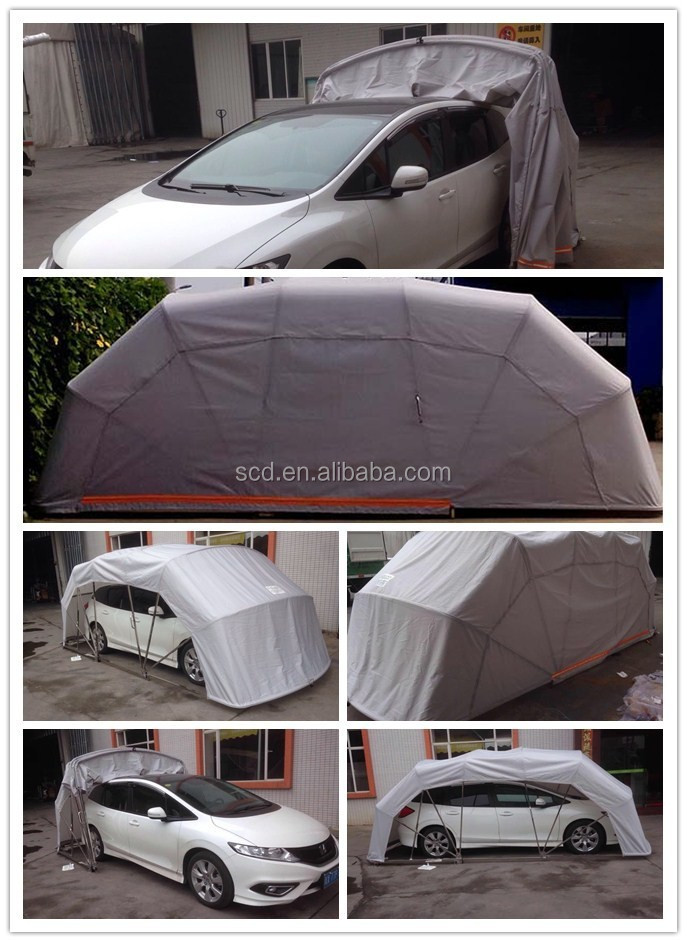 Foldable Car Tent Folding Vehicle Tent Removable Carport