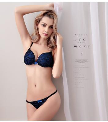 8b5241e8a01 2019 Wholesale 2016 New High End Brand Lady Genny Anti Sagging Push Up  Embroidery Lace Sexy Women S Underwear Lingerie Panties Bra Brief Sets From  Jinzhong