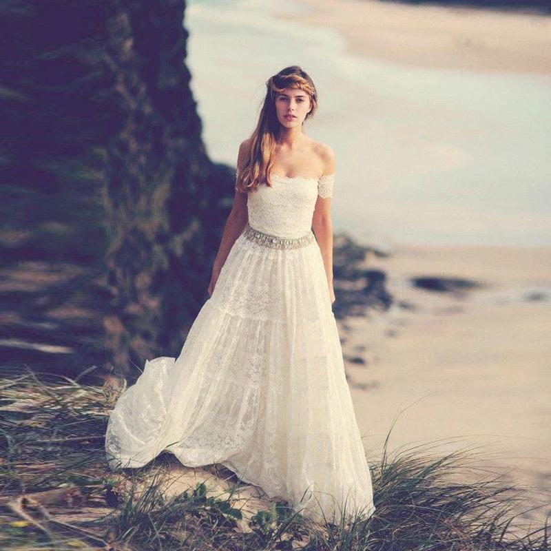bohemian bruidsjurk promotie winkel voor promoties bohemian bruidsjurk op. Black Bedroom Furniture Sets. Home Design Ideas