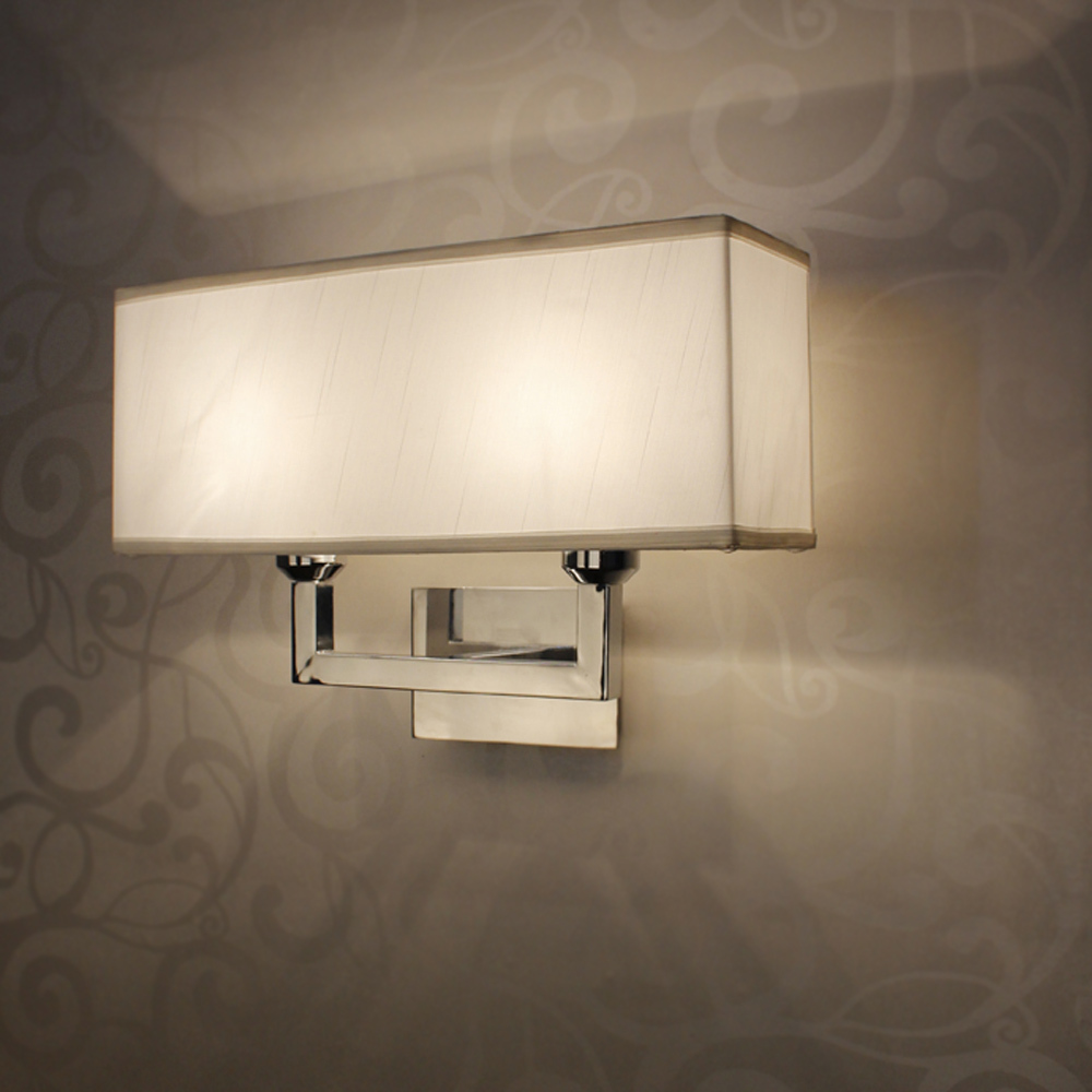 Contemporary Bedroom Wall Lights: Modern Rectangle Wall Lamp E27 Restroom Bathroom Bedroom