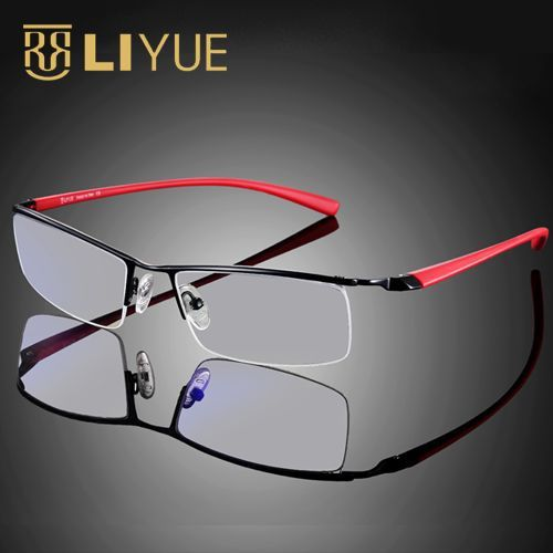 029223317b9c computer glasses frame goggles Anti blue ray clear lens gaming glasses Men  Spectacle radiation resistant eyeglasses eyewear 8199-in Eyewear Frames  from ...