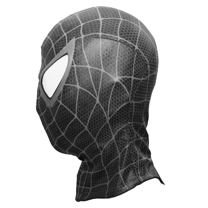 spiderman black mask - 801×801