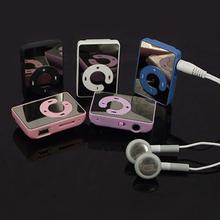 New 2015 New Mini Clip USB MP3 Music Media Player Support 1-8GB Micro SD TF + Headphone + Cable  5VZA
