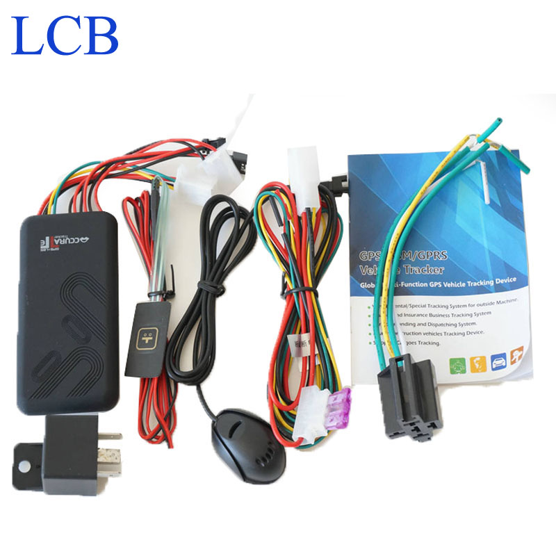 Free shipping!!! Vehicle GPS Tracker HOT! GT06 Quad band Cut off fuel voice monitor Portable Mini GPS tracking device