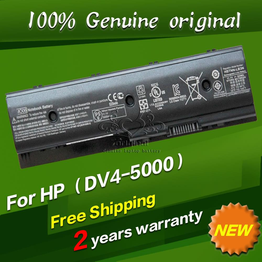 Free shipping TPN C106 C107 P102 P103 P106 P107 W106 W107 Original laptop Battery For HP