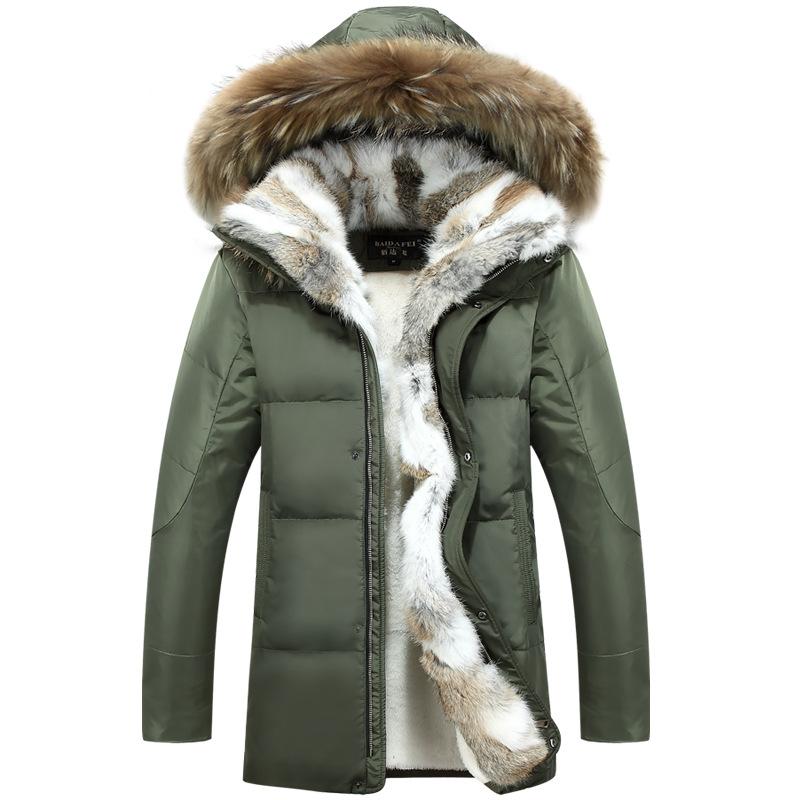 b9f80865b 2019 Long Hooded Parkas Men Thick Warm Mens Winter Jacket Coat Male ...