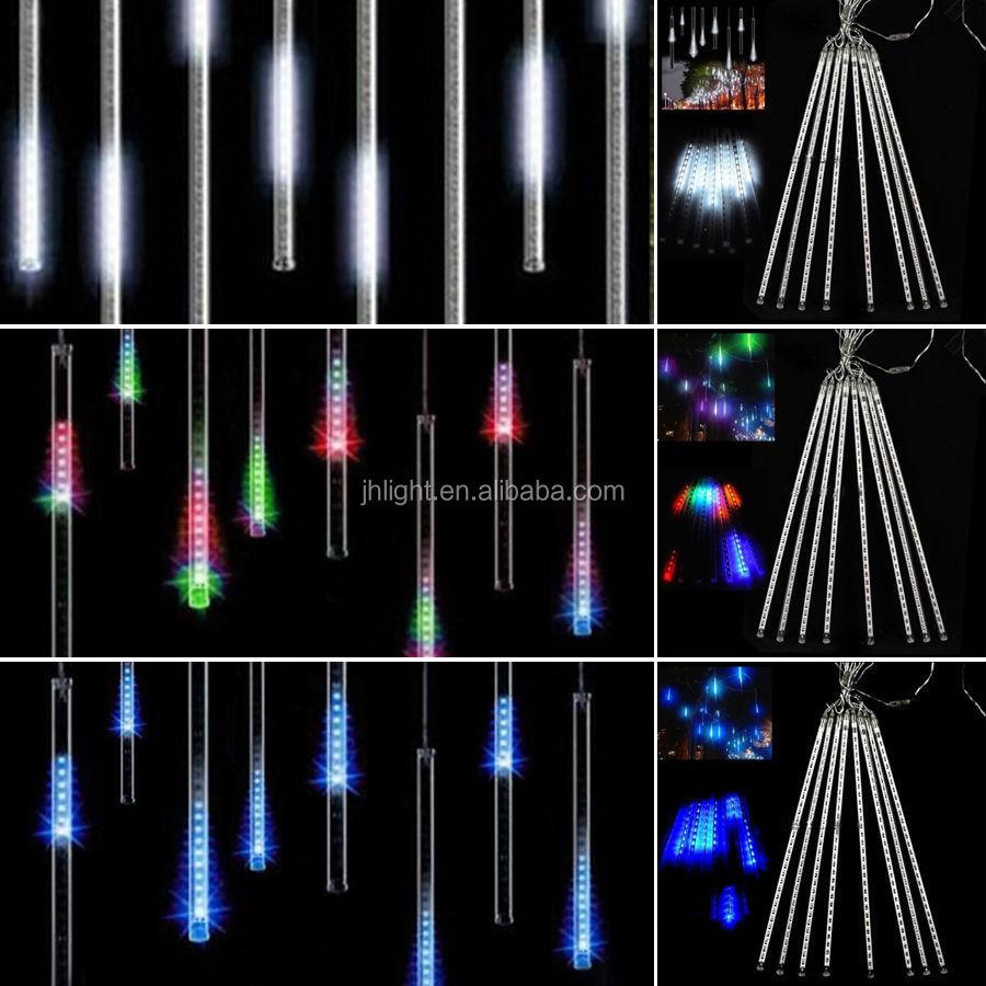 Rain Drop Christmas Lights Meteor Shower Falling Star Rain