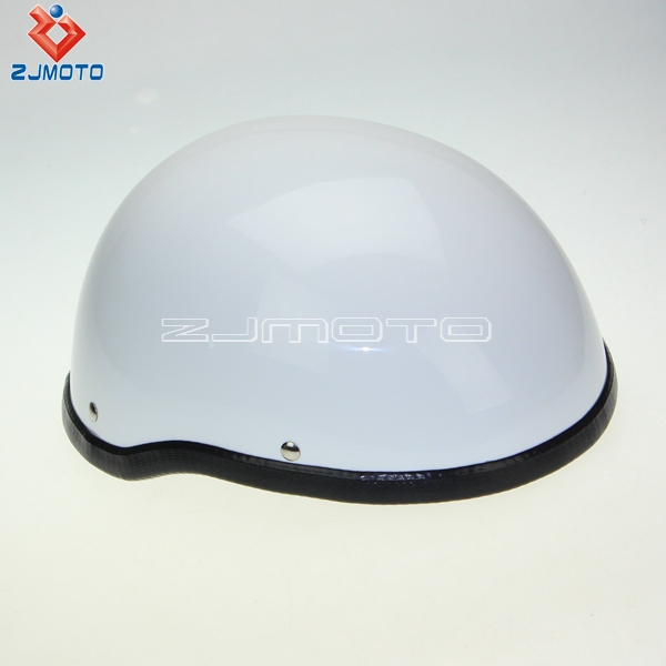 Low profile half helmet dot