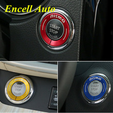 Ignition Switch Decoration Key Ring Sticker Key Cover For Nissan New Qashqai Murano X Trail X-trail Teana 2015 2016 Accessories