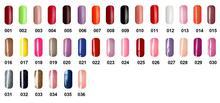 6pcs VOG fashion One Step Soak Off Gel Nail Polish 15ml 36 colors for choice