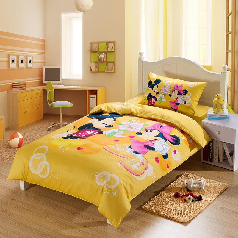 children bedding set for girls dormitory boys and girl twin sets duvet cover catroon child 39 s. Black Bedroom Furniture Sets. Home Design Ideas