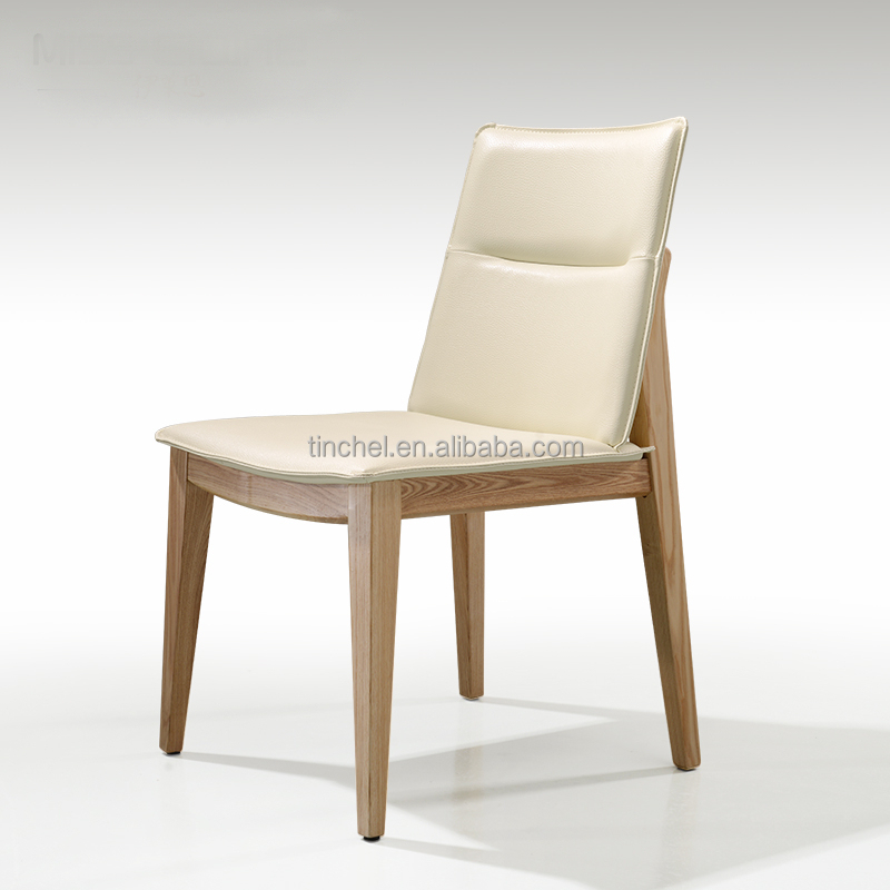 Cheap Wood Dining Chairs: Wholesale Wooden Dining Chair/leather Dining Chair Dg001