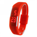 Fashion Sport LED Watches Candy Color Silicone Rubber Touch Screen Digital Watches Bracelet Wristwatch