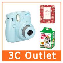 Fujilfilm Instant Mini 8 Camera + Fuji Instax Twin Pack Film + 64 Sheets Photo Frame