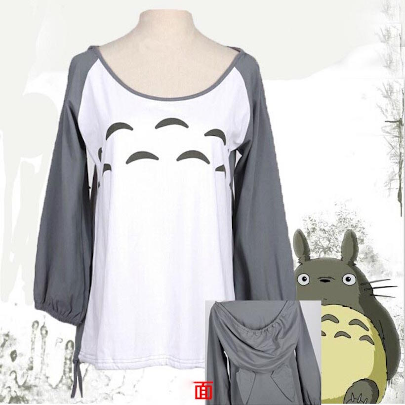 Super Cute! My Neighbor Totoro T shirt women female girls ...