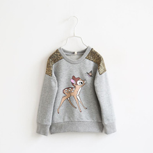 NEW free shipping girls kids tops tees children s clothing cartoon long sleeve sweater