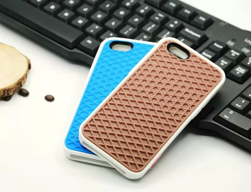 super popular 8b2f0 b8d79 VANS Waffle Case For Apple iPhone X 10 8 7 6 6S 5 5s 7 plus SE Cover Soft  Rubber Silicone Waffle Shoe Sole Mobile Phone Funda