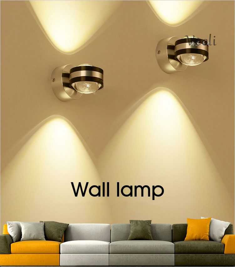 2019 Up Down Wall Lamp Led Modern Indoor Hotel Decoration