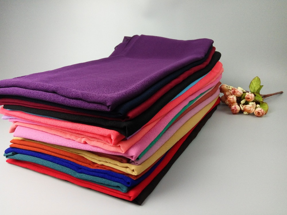 a0be32ef15c2 A 58 50pcs big size 180 85cm Top sale plain bubble chiffon hijab headband  shawl summer muslim scarves scarf