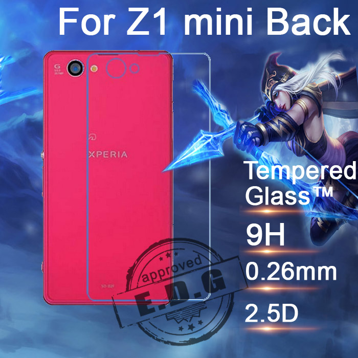 0 26mm 9H Explosion Proof Anti scratch LCD Tempered Glass Film For Sony Xperia Z1 compact