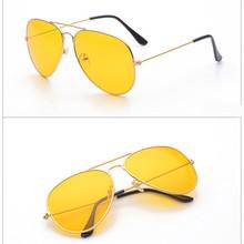 47dcbdfca3 VESTEY Brand Yellow Lens Sunglasses Men Women Night Vision Goggles Driving  Glasses Driver Aviation Polit Sun