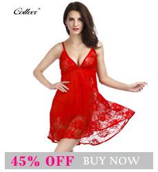 f4d38869ddc28 COLLEER Sexy Lingerie Plus Size Lace Bralette Push Up Bra Set Underwear  Women Transparent Nightwear Halter Suit Bra Sets Thongs