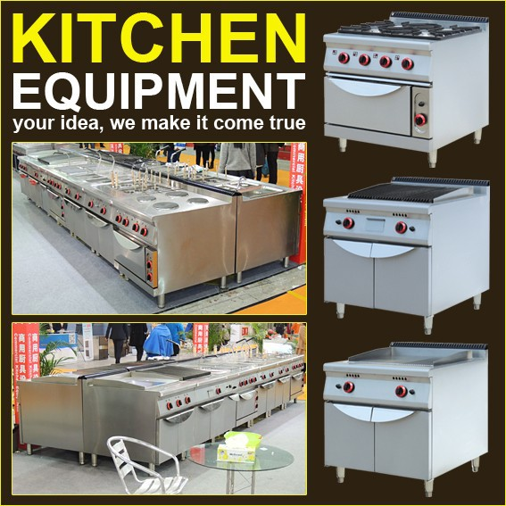 Restaurant Used Commercial Kitchen Equipment China