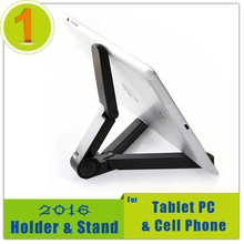 New Store Wholesale prices Foldable Adjustable Stand Bracket Holder Mount for iPad Tablet PC Mobile Phone Free Shipping