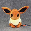 Anime Cartoon Cute Go Eevee Plush Toy Stuffed Soft Dolls 17cm Great Gift New Style